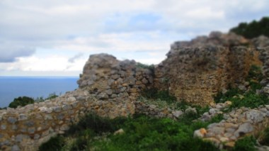 Überbleibsel des alten Castells