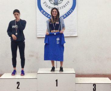 Chiara Lupi ai Campionati Italiani J/P