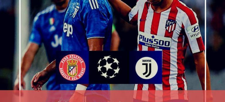 Atlético de Madrid vs Juventus X18 septiembre 21:00