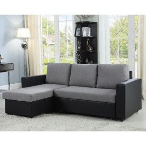 Baylor Sectional Sofa with Chaise and Sleeper