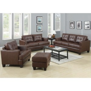 Samuel Stationary Sofa w/ Attached Seat Cushions