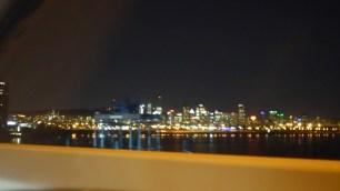 First sight of Montréal
