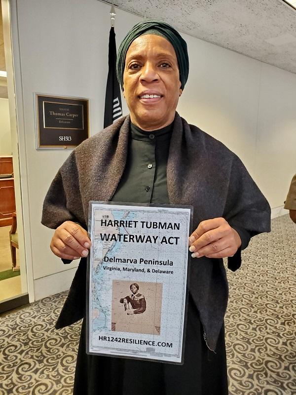 Harriet Tubman goes to Congress