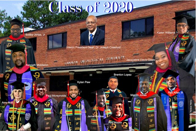 The Gammon Theological Seminary Graduation Class of 2020. Photo by Horace Henry