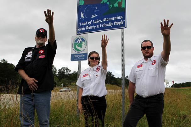 KKK to adopt a highway in Georgia