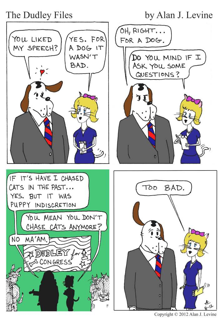 dog and cat romance