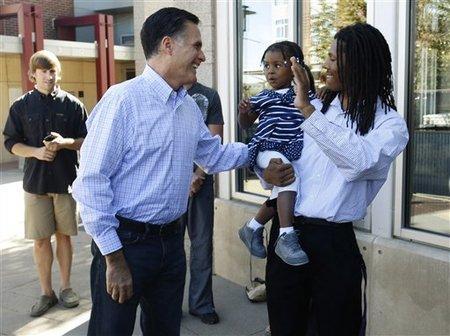Romney says hi