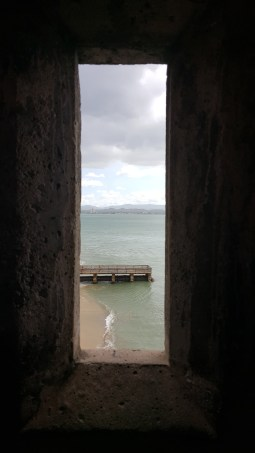 Fortress view in Old San Juan, Puerto Rico