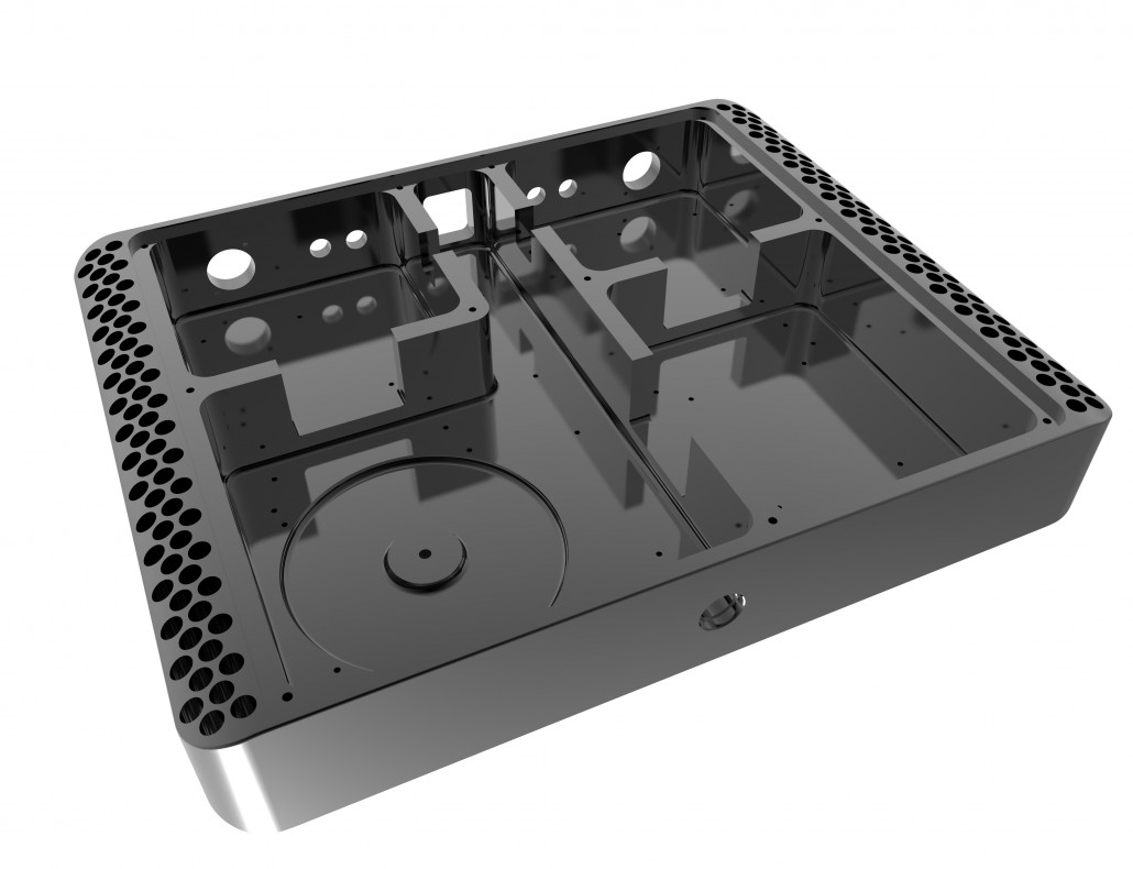 Class D power amplifier mechanical design