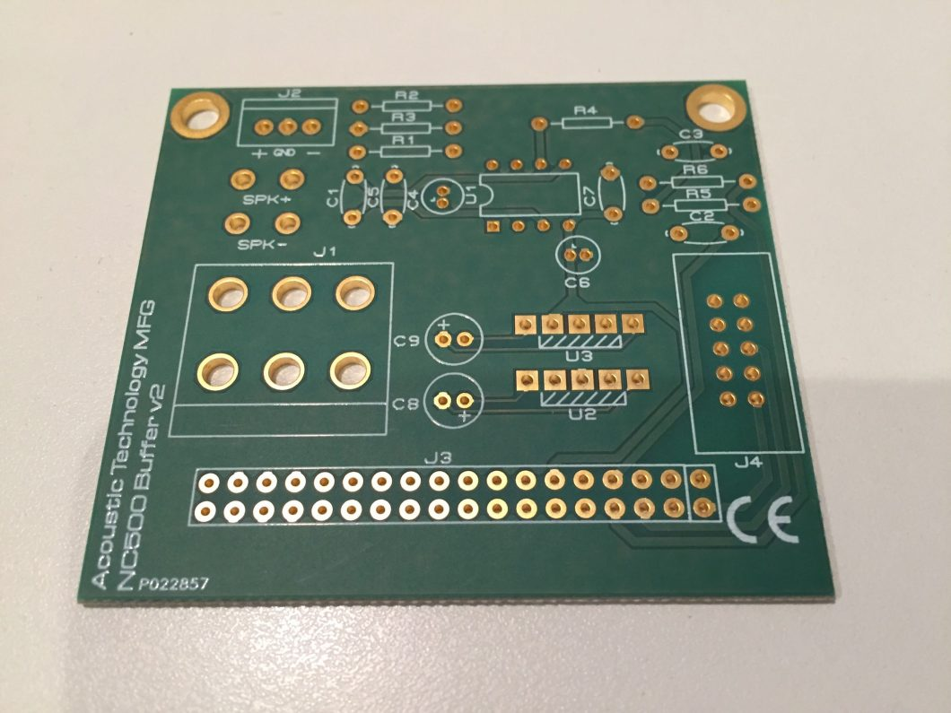 Input Buffer for NC500 and Purifi Audio Second prototype