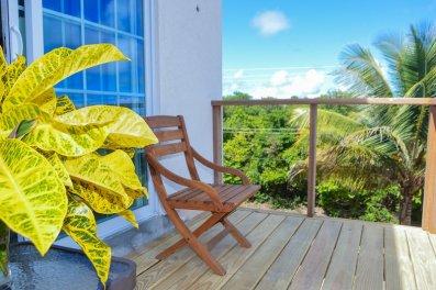 balcony of Atma Island Living