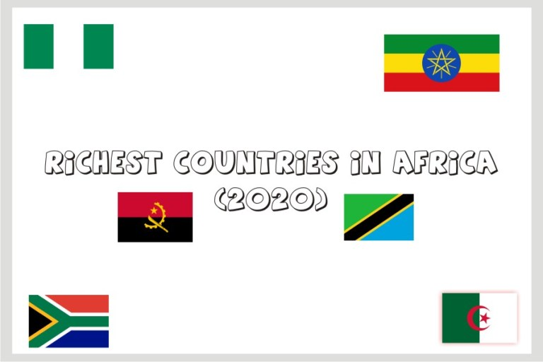 Richest countries in Africa (2020)