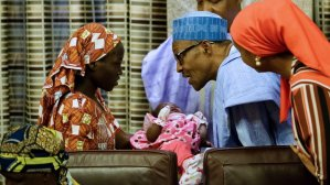 CHIBOK GIRLS WILL NEVER, EVER BE FORGOTTEN, PRESIDENT BUHARI ASSURES