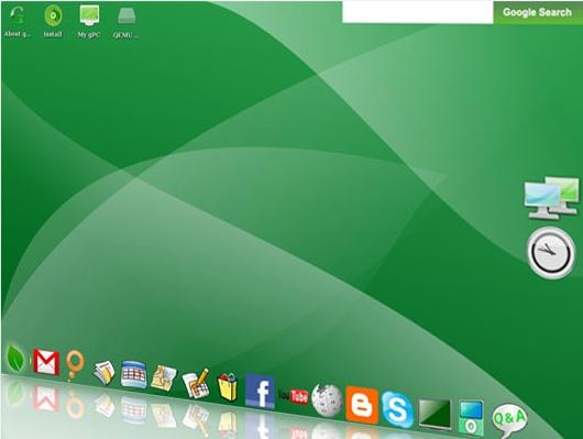 Google OS Screenshot