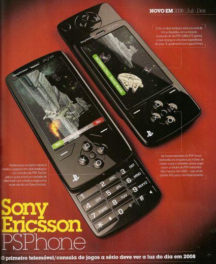 Sony Ericsson PSP Phone