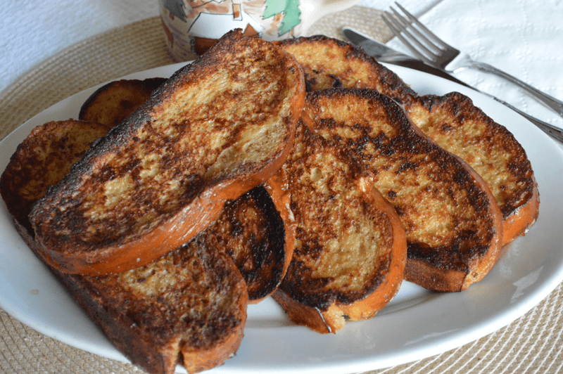 grannie geek, challah french toast