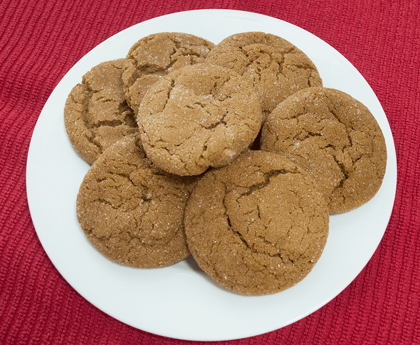 at mimi's table Christmas cookies joe carson's ginger cookies
