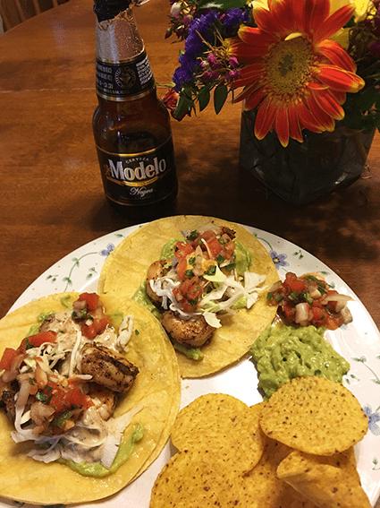 at mimi's table mexican shrimp tacos