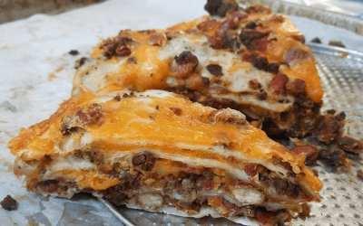 Quick & Easy Burrito Pie
