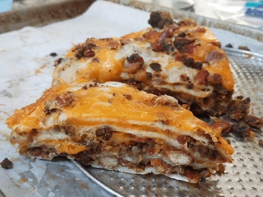 at mimi's table quick & easy burrito pie 1