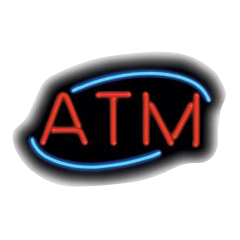 ATM Deco Neon Sign