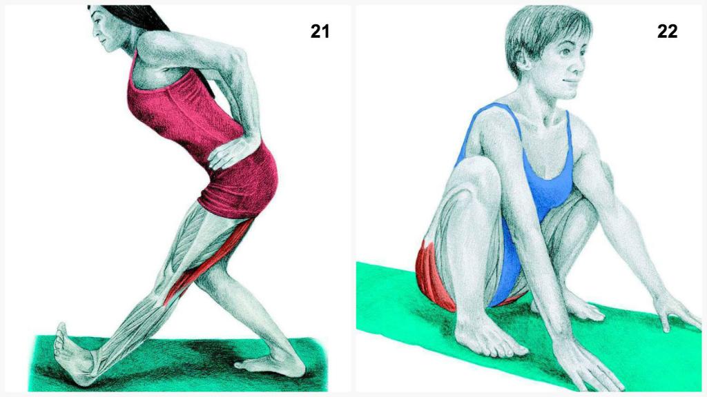 растяжка для мышц ног картинки чебоксарской