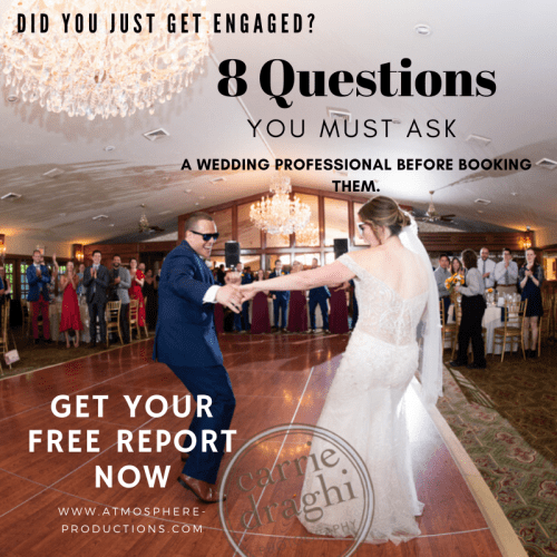 8 QUESTIONS YOU MUST ASK A WEDDING PROFESSIONAL www.atmosphere-productions.com - It's All About The Music - Hubert & Alka - HK-Photography