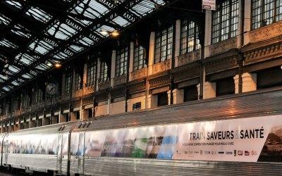 Voyage sensoriel parfumé de la SNCF