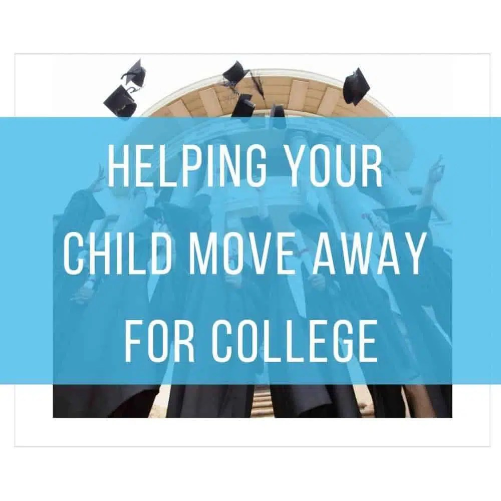 Helping Your Child Move Away for College