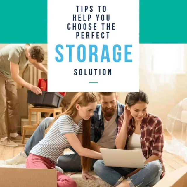 Tips to Help You Choose The Perfect Storage Solution