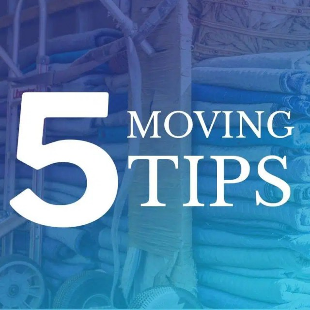 Top 5 Moving Tips to Save Money
