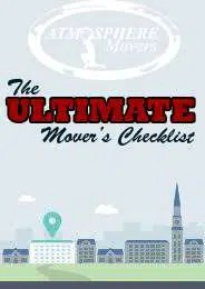 Free Moving Checklist | Atmosphere Movers