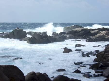 Corsica waves