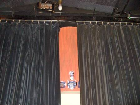 Curtain small stage theater