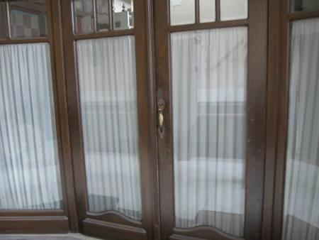 Triggered wood door