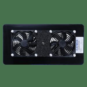Crawl Space Ventilation-Internal Mount-Double Exhaust Fan