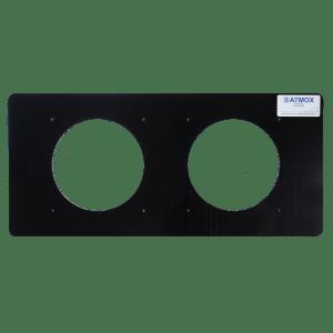 Gable Mount - Double Fan Plate - Multi-Mount fan