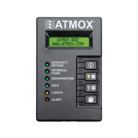 ATMOX ACE Crawl Space Controller display box.