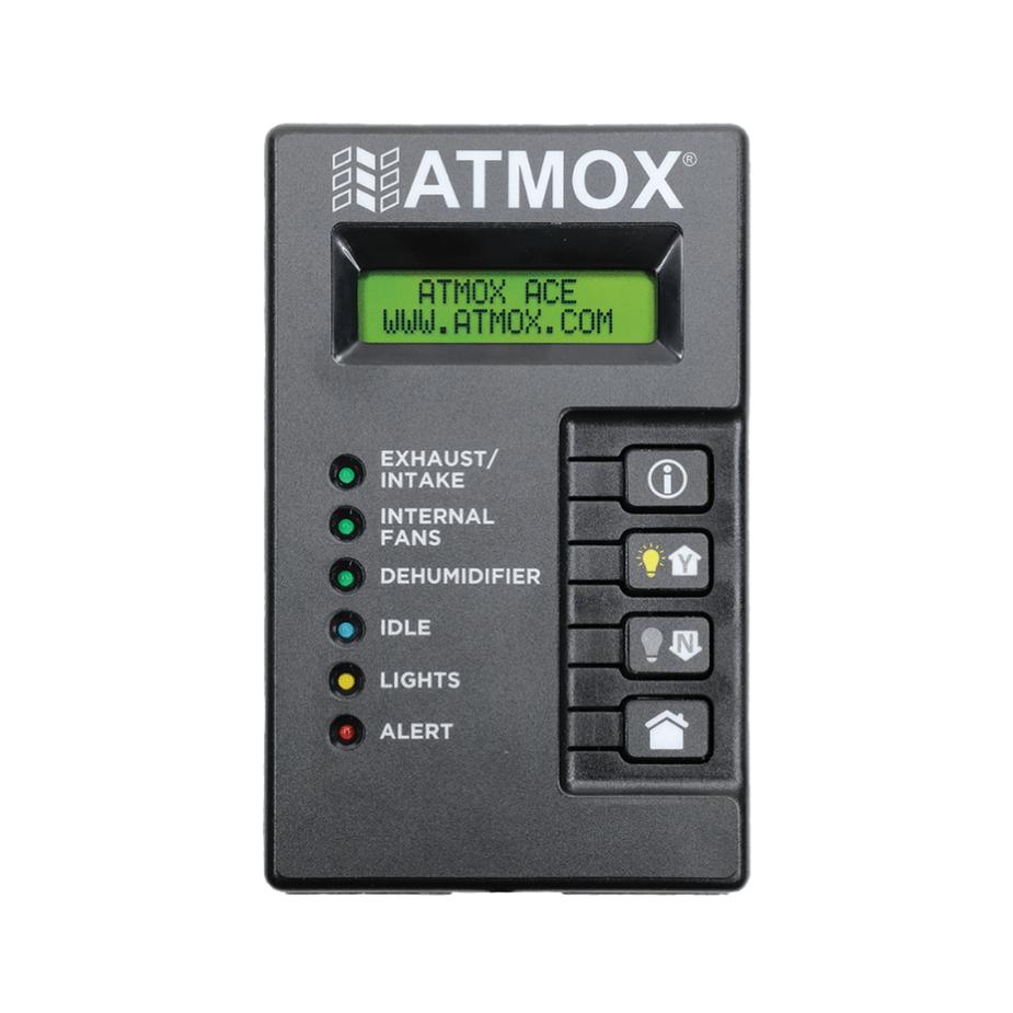 ATMOX ACE Crawl Space Controller display box.