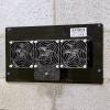 Mounted ATMOX 220 CFM crawl space fan