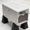 Installed photo of the Aprilaire 1820 Crawl Space dehumidifier