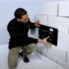 Installation of 145CFM ATMOX Crawl Space fans internally mounted