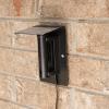 ATMOX Outside Sensor with protective hood Installed
