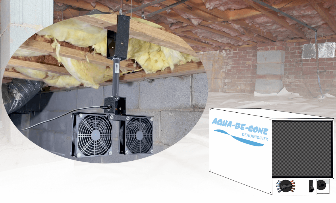 Improve the use of crawl space dehumidifiers