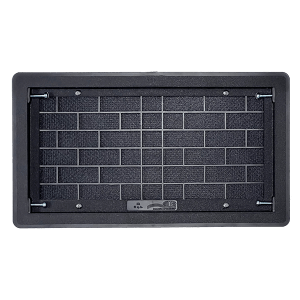 Picture of Solid Grilled Vent Cover for crawl space