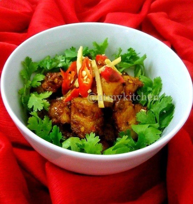 Hot And Spicy Pork / Spicy Masala Pork / Indian Spiced Dry Pork