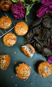 Mocha Banana Chocolate Chip Muffins