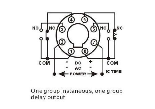 Analog Timer Relay, 6s/12s/30s/60s, 12V/24V/220V