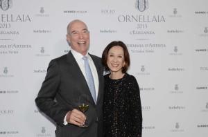 Michael Mondavi and wife