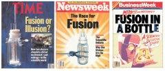 COLD FUSION magazine covers 1989